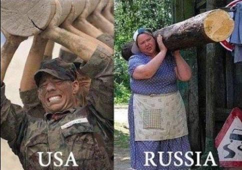 USA - Russia_n