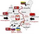 IV Partitioning of Poland Map