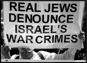 Real jews denounce israel war crimes