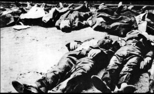 Warsaw civilians executed