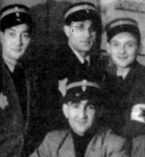 Jewish kapos close up