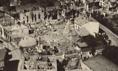 Wielun bombarded 1939