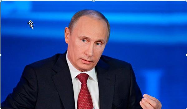 Putin - larger image