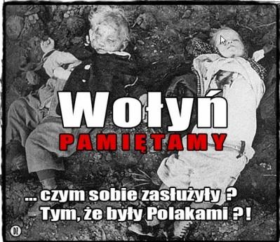 Dzieciece ofiary Wolynia