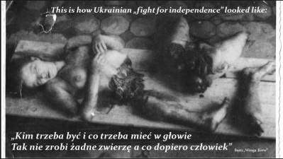 Ukrainian bestiality on Poles