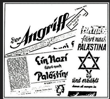 Zionists in the nazi propaganda organ