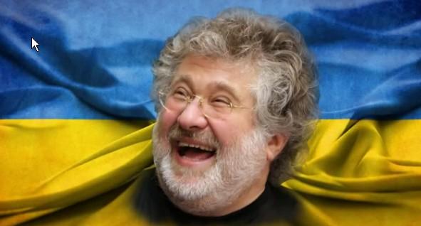 Chazarski leb w ukrainskiej fladze
