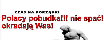 Pobudka Polacy-okradaja was