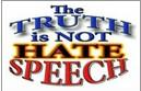 Truth is NOT Hate Speech