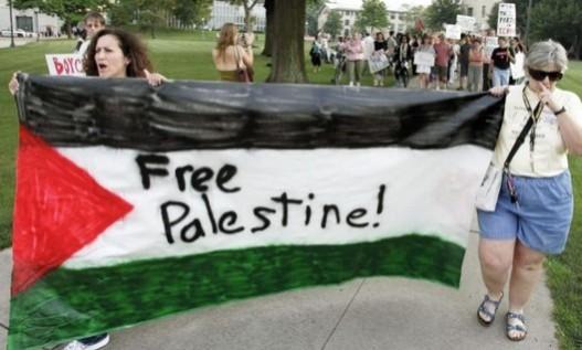 Free Plaestine -protestors