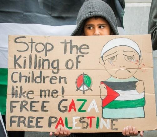 Stop killing children in Gaza