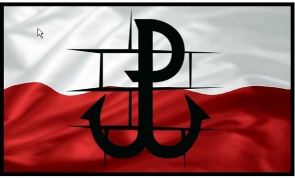P-Pawiak na bialo-czerwonej