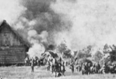 Spalone wsie Wolynia