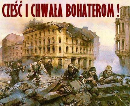Czesc i chwala bohaterom Powstania-obraz