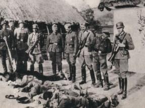 Jedna z pierwszych egzekucji nazistowkich