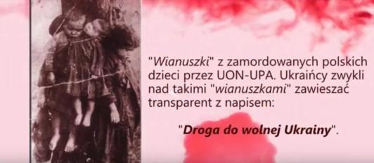 Wianuszki z pomordowanych Polskich dzieci