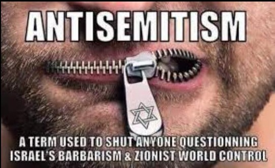 Antisemitism-term used to shut up people