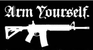 Arm yourself-rifle