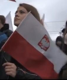 Polka na marszu Niepodleglosci