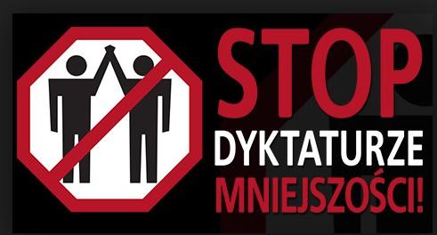 Stop dyktaturze mniejszosci