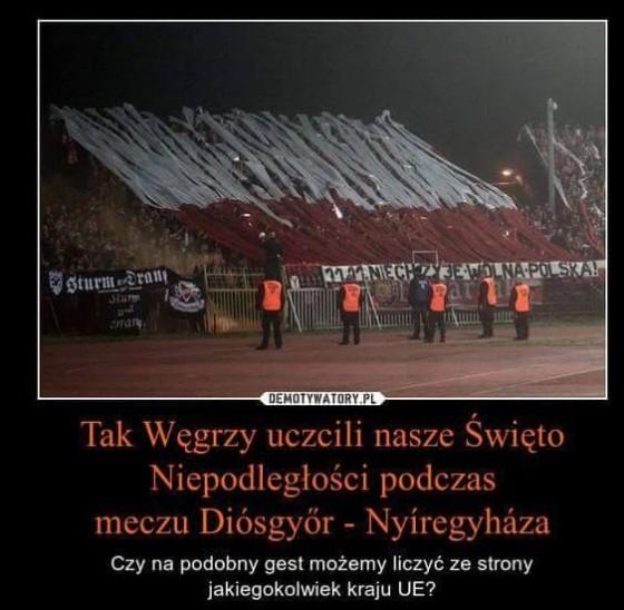 Wegrzy uczcili Polskie Swieto Niepodleglosci