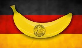 Banan na niemieckiej fladze