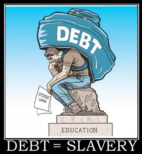 Debt=Slavery