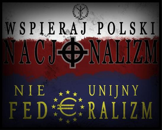 Wspieraj polski nacjonalizm, nie unijny federalizm