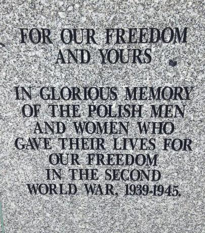 For our freedoms & yours