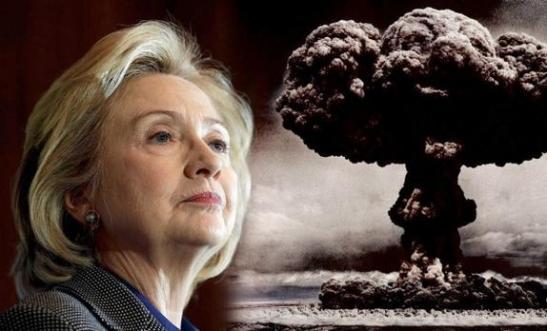 H Clinton & world war