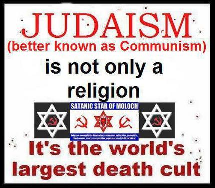 Judaism-the world's largest death cult