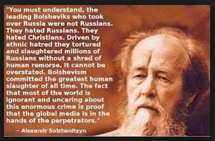 Leading Bolsheviks were not Russians