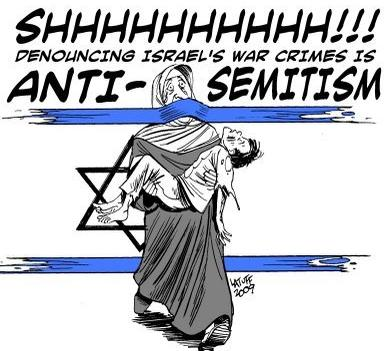 SHhhh - Denouncing Israeli crimes if antisemitism