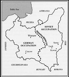The Ribbentrop-Molotov Line