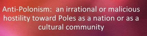 Anti-Polonism as an irrational hostility towards Poles