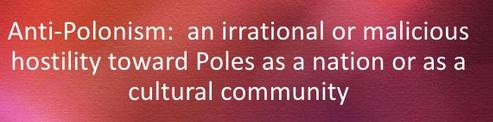 Anti-Polonism as an irrational hostility towards Poles