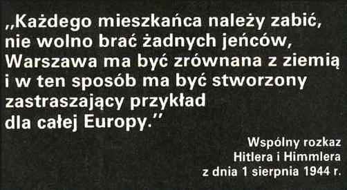 Eksterminacja Warszawiakow