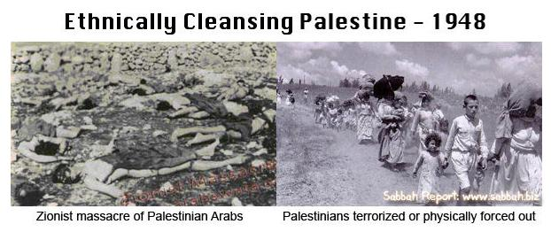 Ethnical cleansing of Palestine
