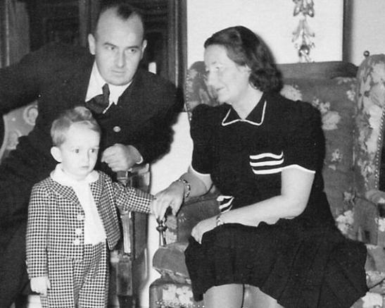 Hans Frank & his family