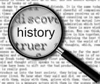 History under microscope