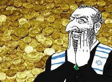 Jew happy with money