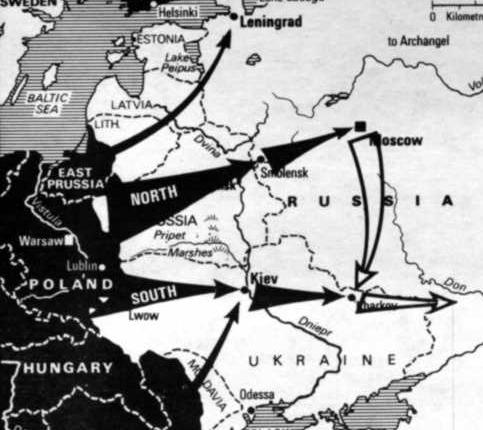 Nato's shadow of nazi Operation Barbarossa
