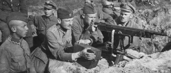 Polish defenses in 1920 war