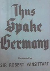 Thus Spake Germany