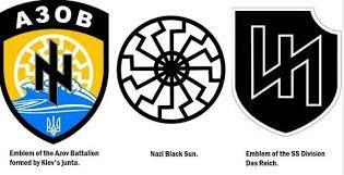 Ukrainian nazi symbols