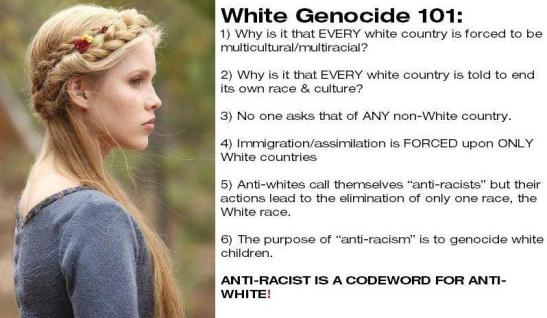 White genocide 101