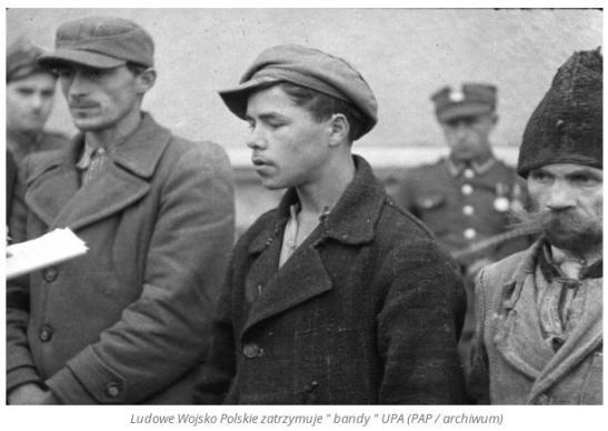 Wojsko Polskie zatrzymuje bandy UPA