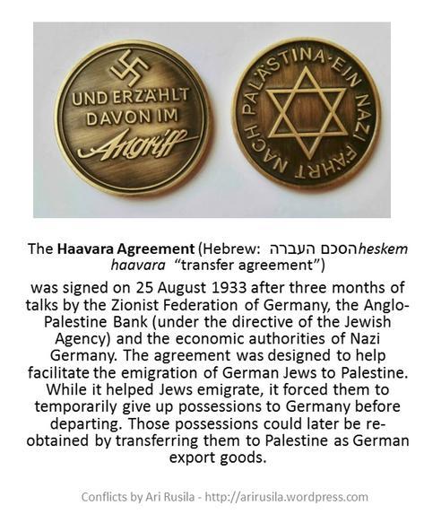 Haavara Agreement - coins