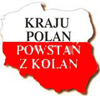 Kraju Polan powstan z kolan