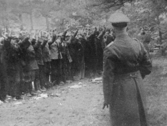 Piasnica before German execution